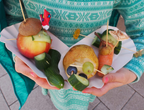 5. Mai 2018 – Mit Spaß Gesundes naschen – Gemüseschnitzen auf dem Brühlfest