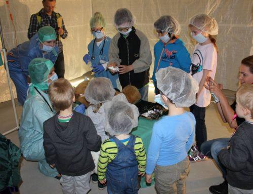 05. Oktober 2014 – Das große Krankenhaus der Plüschtiere öffnet erneut