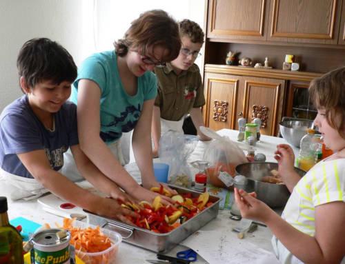 26. April 2014 – Kalte Töpfe beim Kochwochenende im Teepunkt