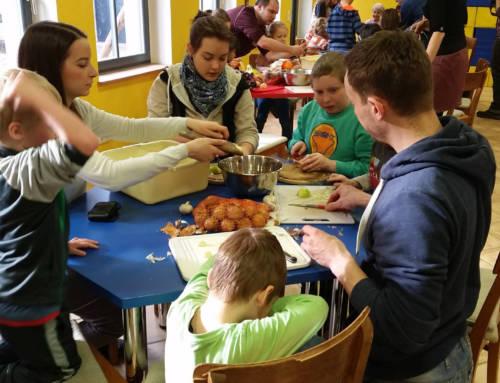 31. Januar 2015 – Kochauftakt in Dresden