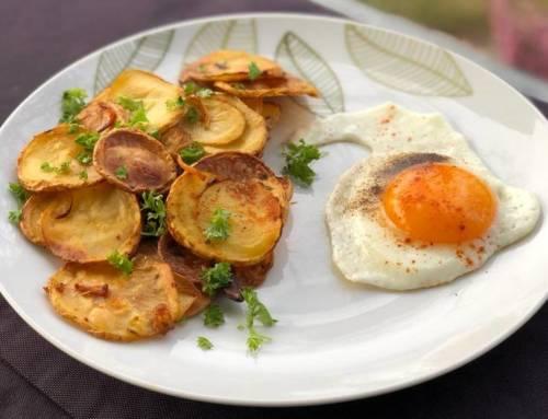 Kochen mit Juana: Bratkartoffeln mit Spiegelei